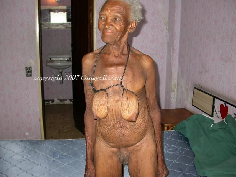 old black granny Nasty