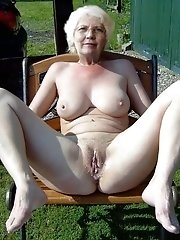 Ugly slut grannie Old